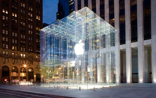 apple fifthavenue e1305851522312 Apple Store: 10 años de crecimiento