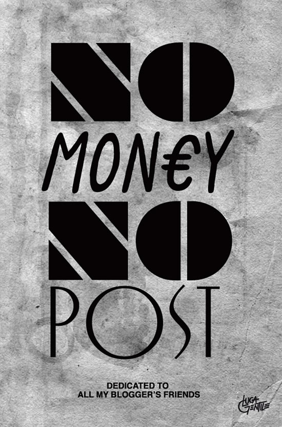 No Money No Post