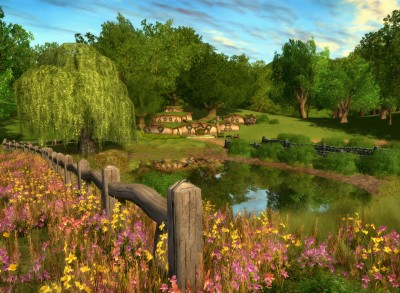 lotro the shire 400x293 Juguemos Lord of the Rings Online