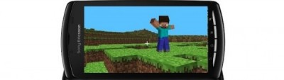 Minecraft xperia play 400x113 Minecraft llegara al Xperia Play