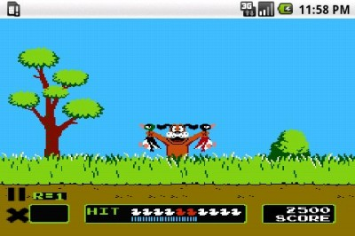 duck hunt android 400x266 Duck Hunt para Android