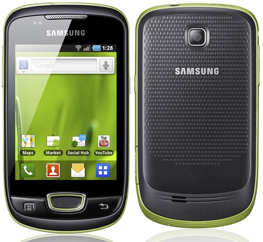 Samsung Galaxy Mini Samsung Galaxy Mini S5570 en Claro