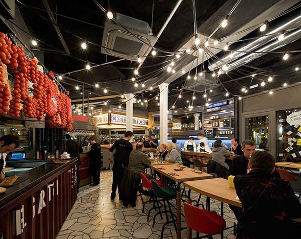 Restaurante tickets - Decorar un bar de tapas ...