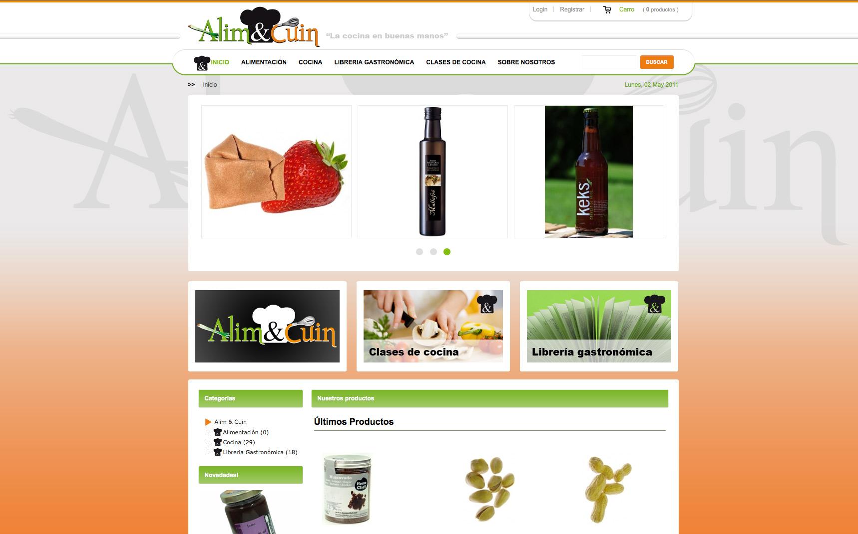 Alim and cuin venta online de productos relacionados con for Productos cocina online