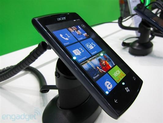 acer w4 Acer presenta su primer Windows Phone
