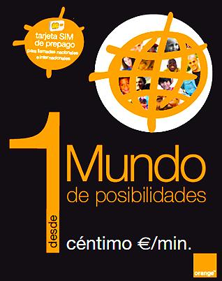 Tarjeta Sim Mundo De Orange Llamadas Internacionales Desde 1 C Ntimo El Minuto