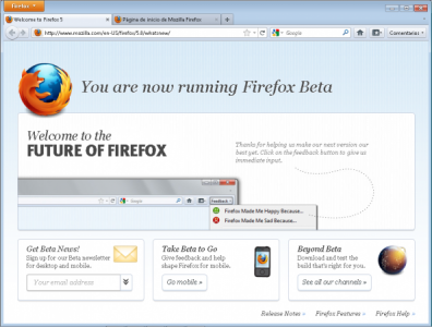 firefox 5 rc 396x300 Firefox 5 Release Candidate ya disponible