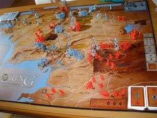 War Of The Ring Guerra De El Anillo Juego De Mesa