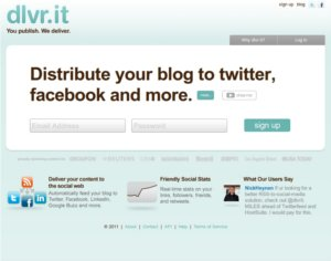 dlvr it Dlvr.it: sincronizar tus blogs con las redes sociales