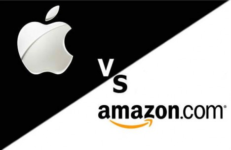 apple vs amazon 468x305 Es probable que Apple pierda la battalla con Amazon por el App Store