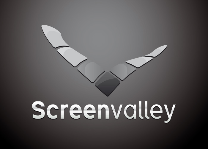 Logotipo de Screen Valley