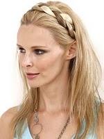 Peinado trenza como diadema