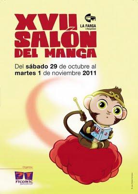 XVII Salón del Manga de Barcelona. Cartel-xvii-salon-manga-barcelona_1_796500