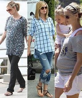 f82a4fe2b Tres Looks Para Mamas Embarazadas