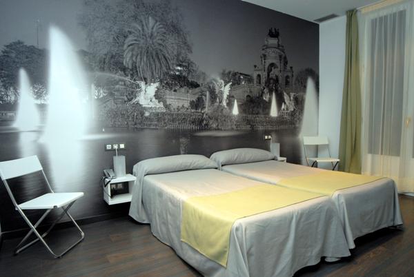 Inspirado en los cuatro elementos for Hoteles barcelona habitaciones cuadruples