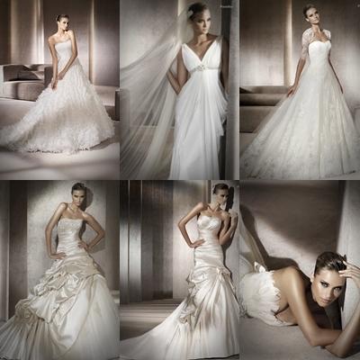 Fotos de vestidos de novia 2012