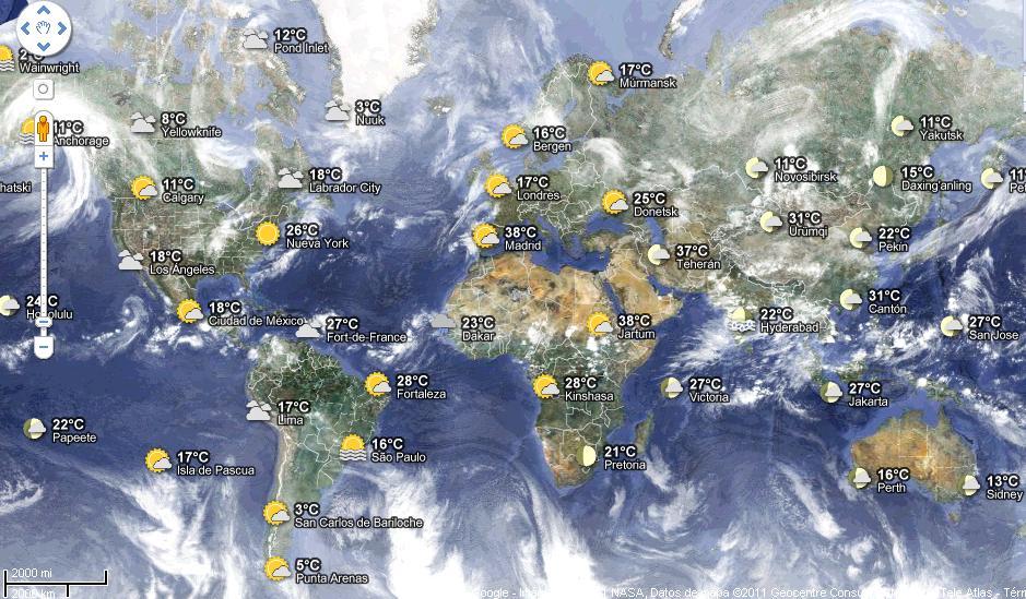 Google maps ahora incluye informaci n sobre el clima - Temperatura terrassa ahora ...