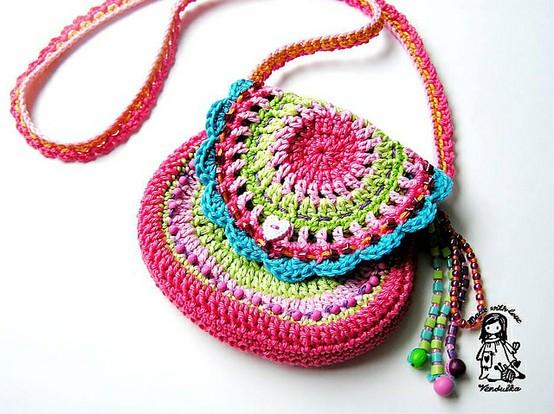 Carteras buho crochet - Imagui