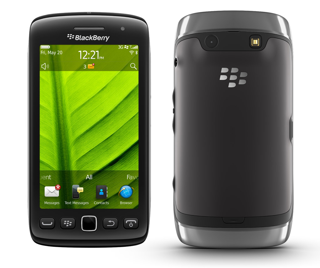 Blackberry Torch 9860 con control full touch