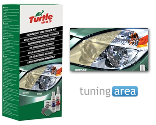 Restaurador de faros turtle wax