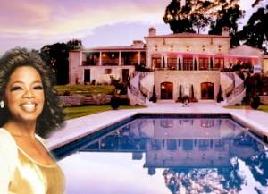 Casa de oprah winfrey for Las mejores casas de los famosos