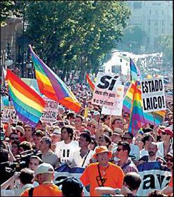 Los cristianos apoyan el matrimonio homosexual