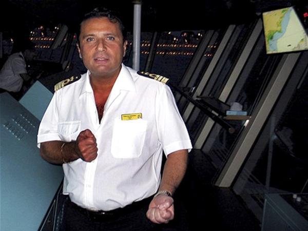 El capitán del Costa Concordia