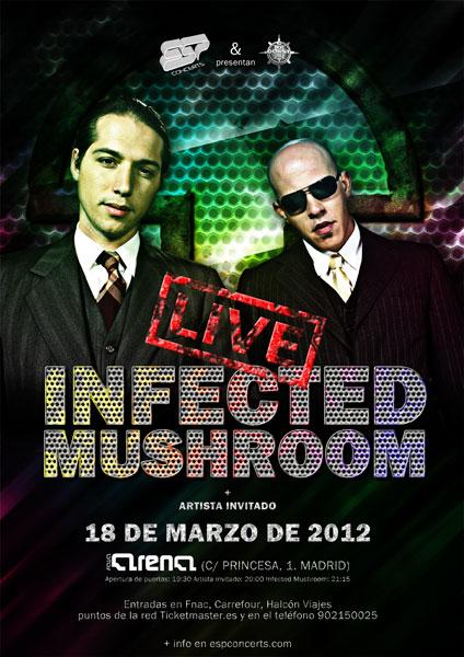 Infected Mushroom Tour Portland