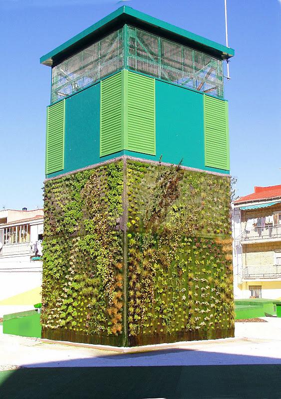 El jard n vertical escondido de getafe for El jardin escondido