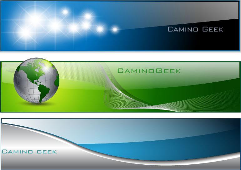 web con banner:
