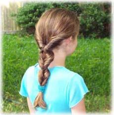 peinado para nia en cabello rizado se trata de un peinado muy sencillo y fcil de hacer pero en este caso se utiliza una tenaza y un spray protector para