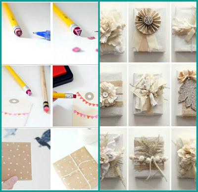Envoltorios navidad originales baratos y eco - Regalos economicos de navidad ...