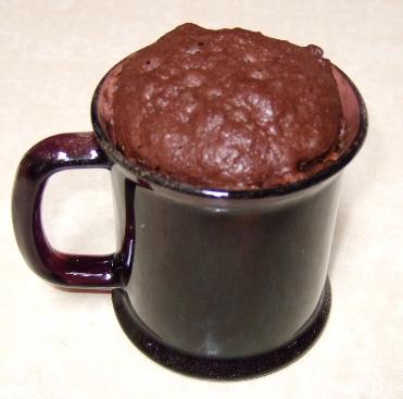 Cake de chocolate en 5 minutos