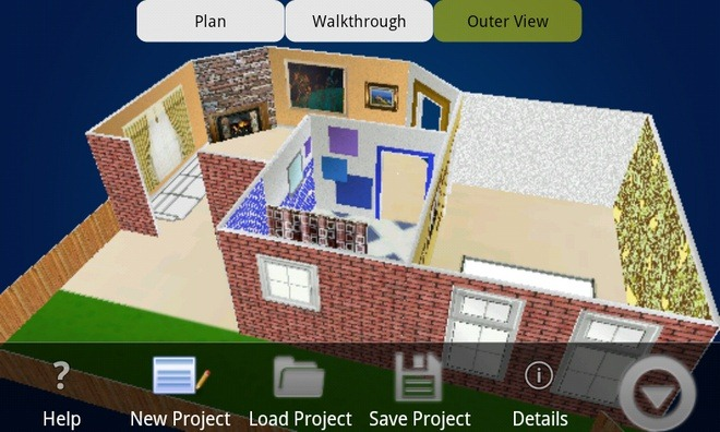 Buildapp aplicaci n android para el dise o de tu casa - Disenar casas 3d ...