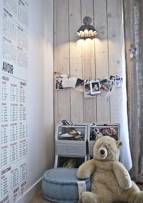 Dormitorios infantiles chics y urbanos - Dormitorios infantiles vintage ...