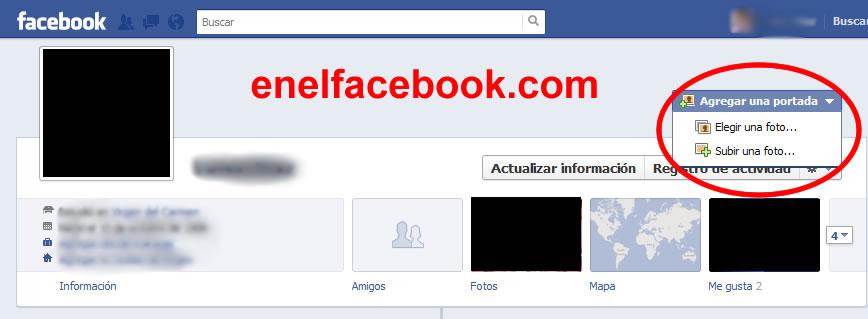 Como poner foto de portada en facebook - Cambiar foto portada facebook ...