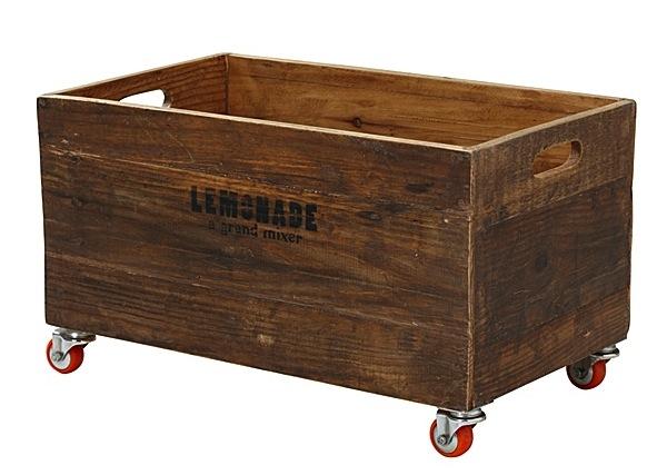 Hoy me gustan estas cajas de madera - Caja madera con ruedas ...