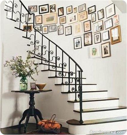 Como decorar la escalera - Como decorar una escalera interior ...