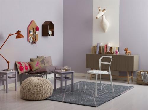 Dormitorios infantiles el color de las paredes - Color paredes dormitorio ...