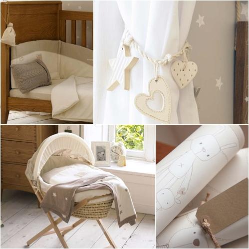 Dormitorio para ni os en tonos naturales - Dormitorio para ninos ...