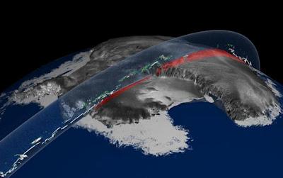 Sur Del Del Los Glaciares Del Polo Sur Han