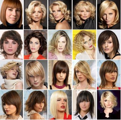 Cortes de pelo mujeres semi largo
