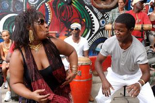 musica de santeria cubana: