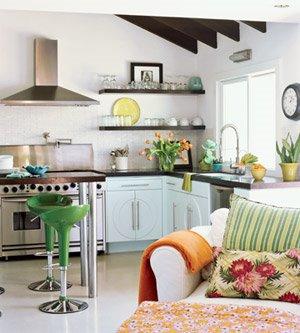 Feng shui para espacios reducidos for Cocinas para espacios pequenos