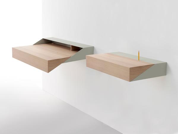 Deskbox escritorio minimalista for Mesas de escritorio modernas