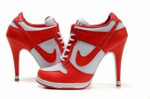 zapatos altos nike mujer