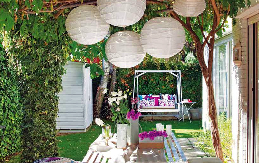 Ideas para decorar jardines en ticos y terrazas Decoraciones para porches de casas