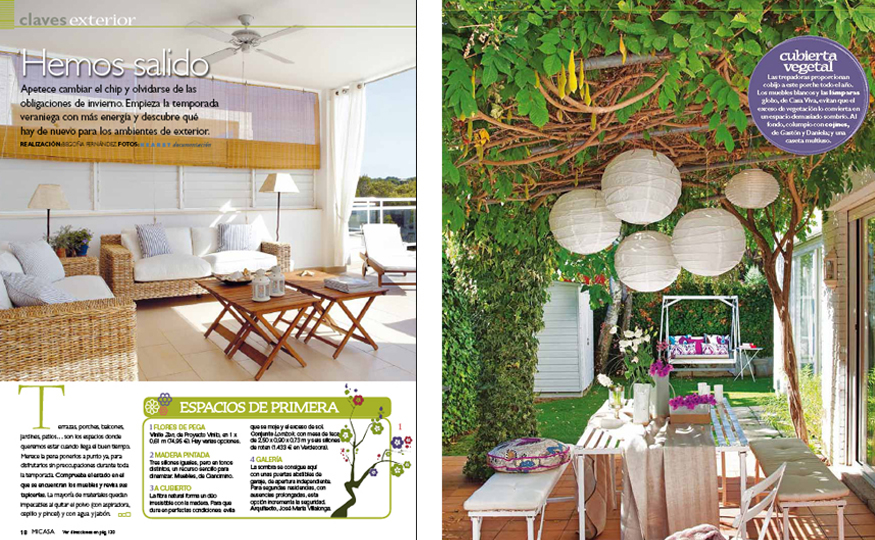 Ideas para decorar jardines en ticos y terrazas for Casa y jardin revista pdf