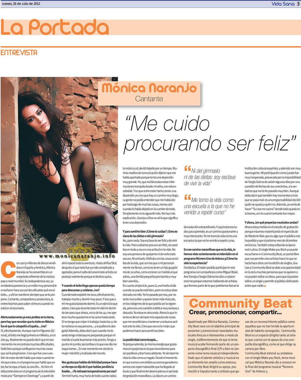 Mónica Naranjo - Sobrevivire