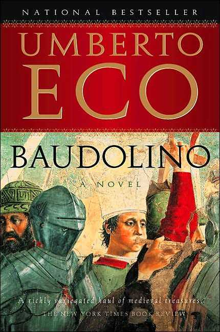 Baudolino by Umberto Eco. Signed! 1st/1st